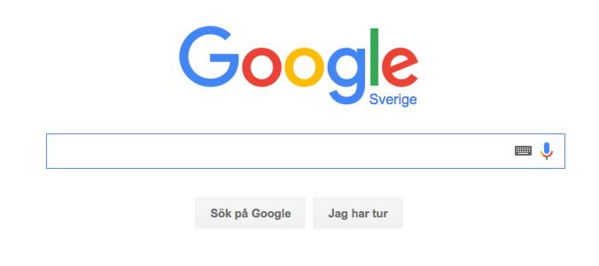 Google sök